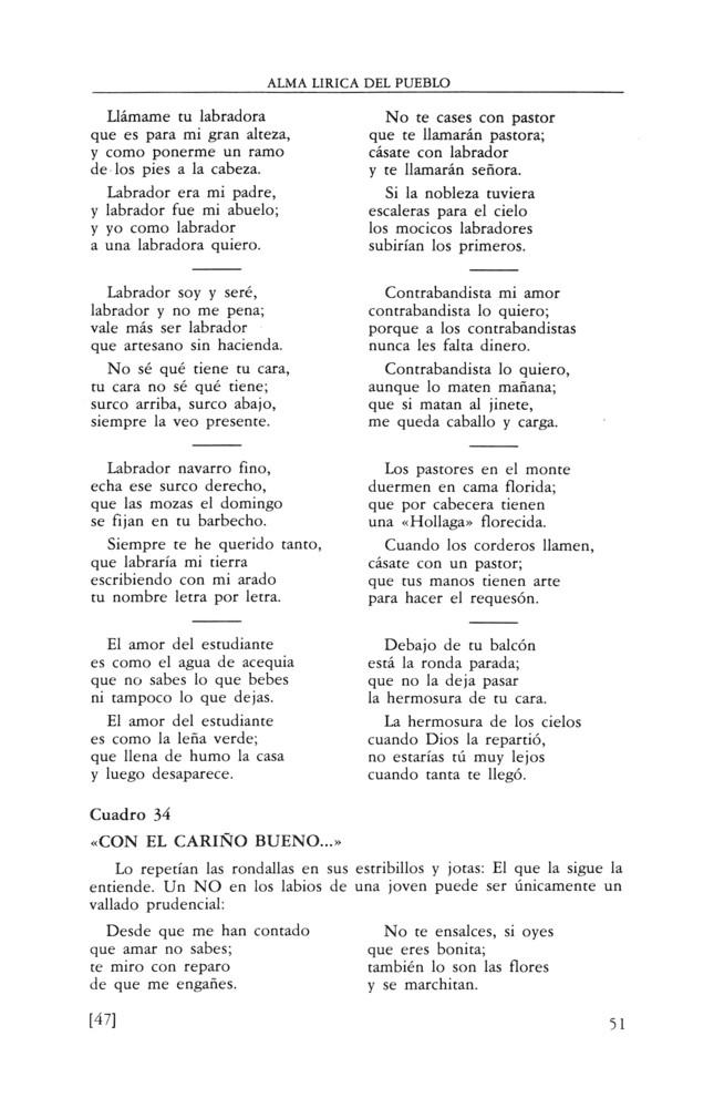 Alma lírica del pueblo (el huerto de los cantares) - Centro