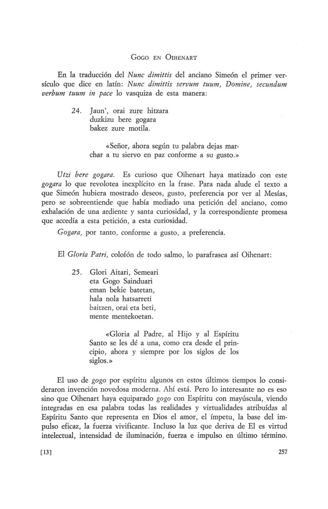 a7c47bd60d3d7 Gogo en Oihenart - Centro de Documentación César Borgia
